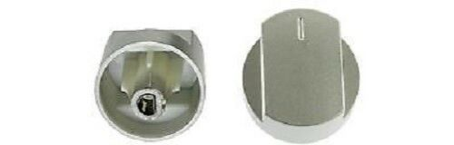 Genuine STOVES Oven Cooker Hob Control Knob Switch Silver 444445108 444445112