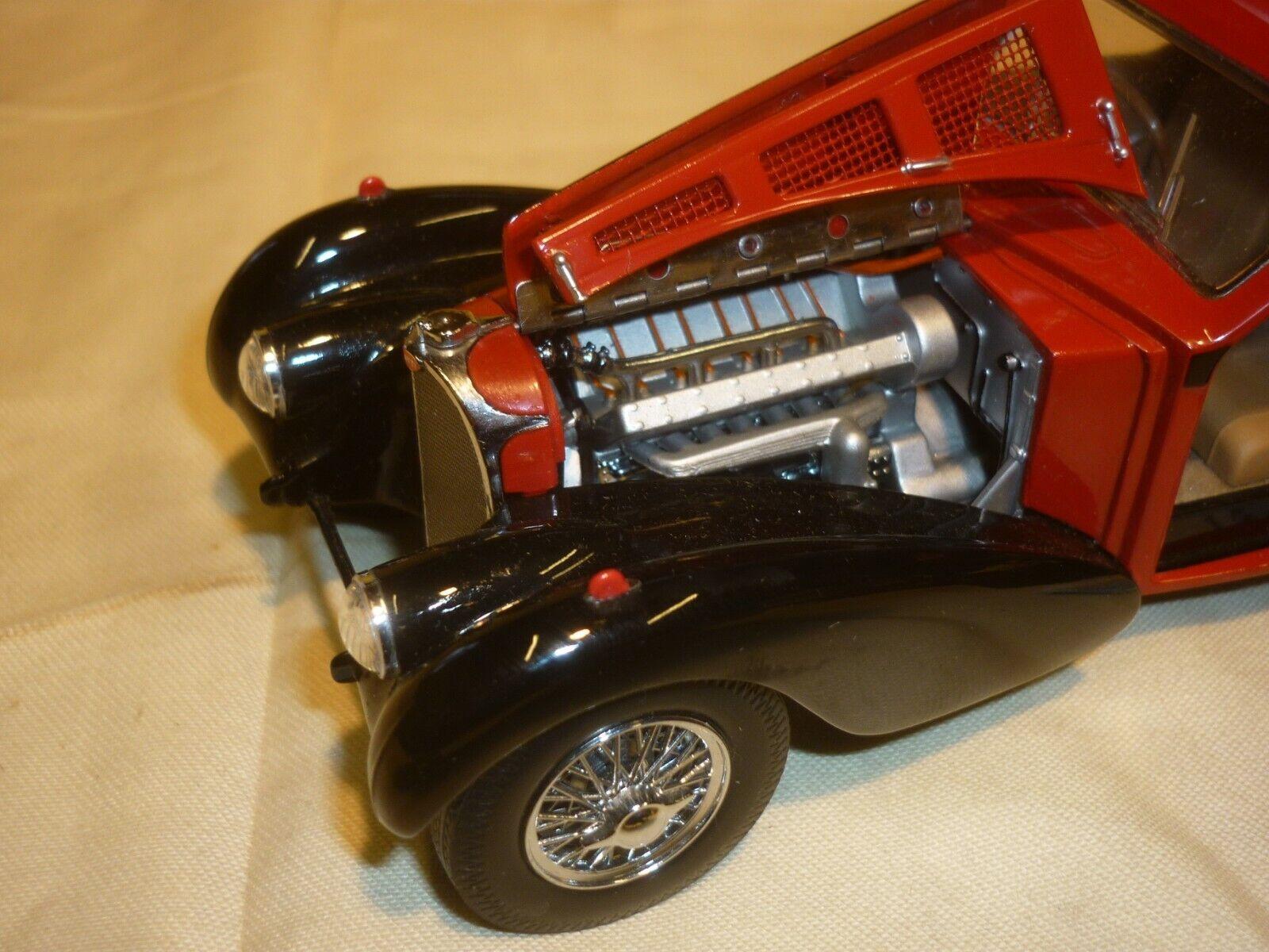 Pre-owned Franklin mint 1936 Bugatti Atlantic type 57 SC, no no no Box, loose, 9d868c