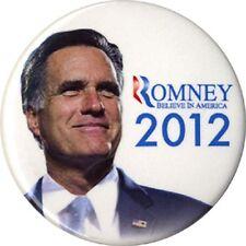 2012 Mitt Romney Believe In America Campaign Button (4865)