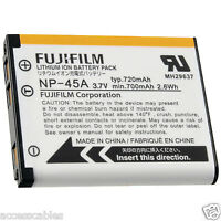 Genuine Fuji Np-45a Battery For Finepix Z800 Z808 Z707 Z700exr, Z200fd Camera