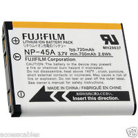 Genuine Fuji Np-45a Battery For Finepix Jz500, Jz505, Jz300, Jz305 Xp30 Camera