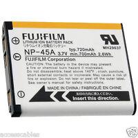 Genuine Fuji Np-45a Battery For Finepix Z800 Z808 Z707 Z700exr, Z200fd Camera