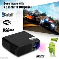 Uhappy U20 Pro Mini Bluetooth Dtv Hd Projecteur Wifi Android Vidéoprojecteur 8gb