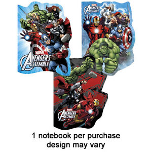 Avengers-Shaped-A6-Notebook-Assemble-Marvel-Stocking-FILLER-Christmas
