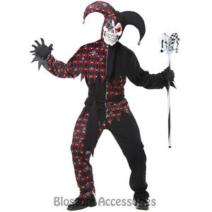 CL15-Sinister-Jester-Adult-Black-Red-Evil-Jester-Halloween-Adult-Party-Costume