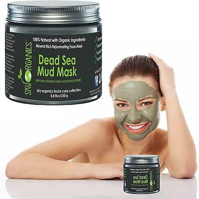 Dead Sea Mud Facial Face Mask, For