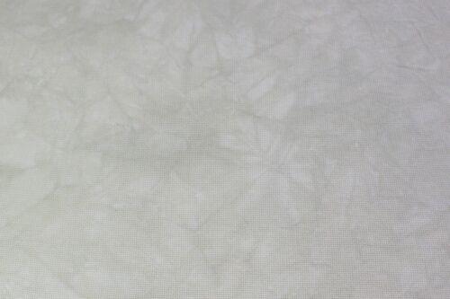 Hand-dyed Aida Cloth-Ecru-11 Count thru 18 Count DMC cross-stitch fabric