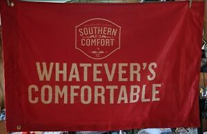 Southern Comfort Whiskey Company Logo Advertising Flag Bar New Orleans Original