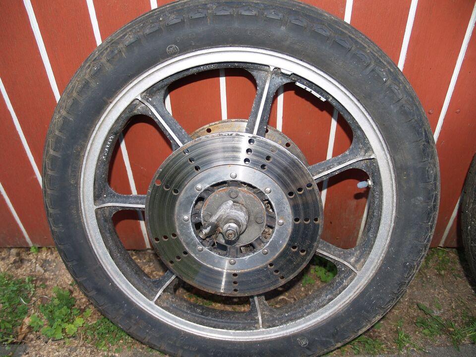 Kawasaki z500 årg. 1978: Fælge