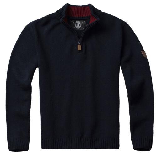 Décontracté Montant Marine Pull Homme Bordeaux Gris Icon Tricoté Pull Gris Col Pgwear IYfgy6vmb7