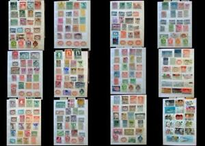Great Stamp Collection From Austria Liechtenstein & The United States, Free Post