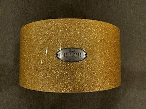 Pearl-8x14-Free-Floating-Snare-Drum-Shell-in-Bombay-Gold-Sparkle