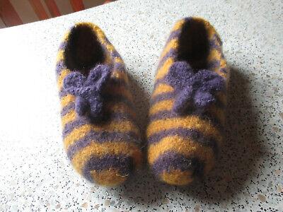 Preciso Pantofole Tg. 36 Con Antiscivolo-scanalata, Feltro Pantofole-ppen, Filzpantoffel It-it Mostra Il Titolo Originale