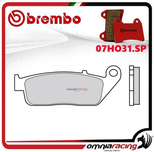 Brembo SP - pastillas freno sinterizado trasero para Honda VF1000R 1989>