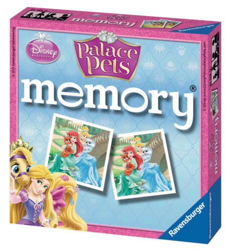 CHILDRENS DISNEY PRINCESS PALACE PETS MINI MEMORY GAME RAVENSBURGER