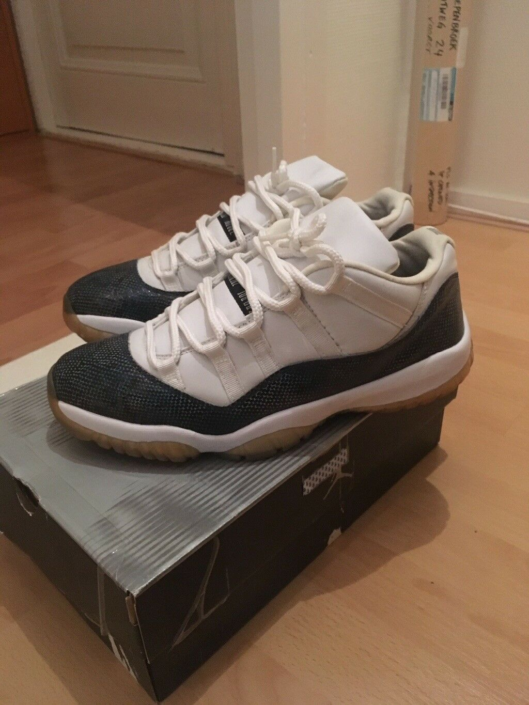 Nike Air Jordan XI 11 Snake Low OG US11.5 EU45.5 UK10.5