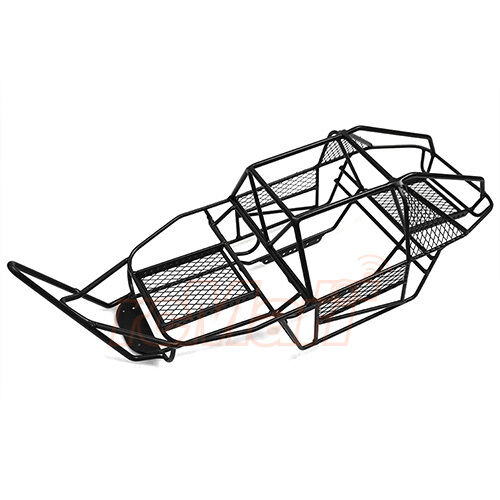 Xtra Speed V Steel Cage Chassis Black Axial Scx10 Rc Cars Crawler