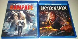 Rampage-rascacielos-2-Blu-ray-039-no-Dvd-Digital-Dwayne-034-La-roca-034-Johnson