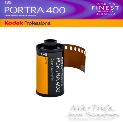 Kodak PORTRA 400 ~ 35 mm ~ 36exp paquete de cinco fresca de Kodak!