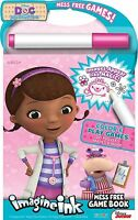 Bendon Publishing Doc Mcstuffins Imagine Ink Mess Free Game Book