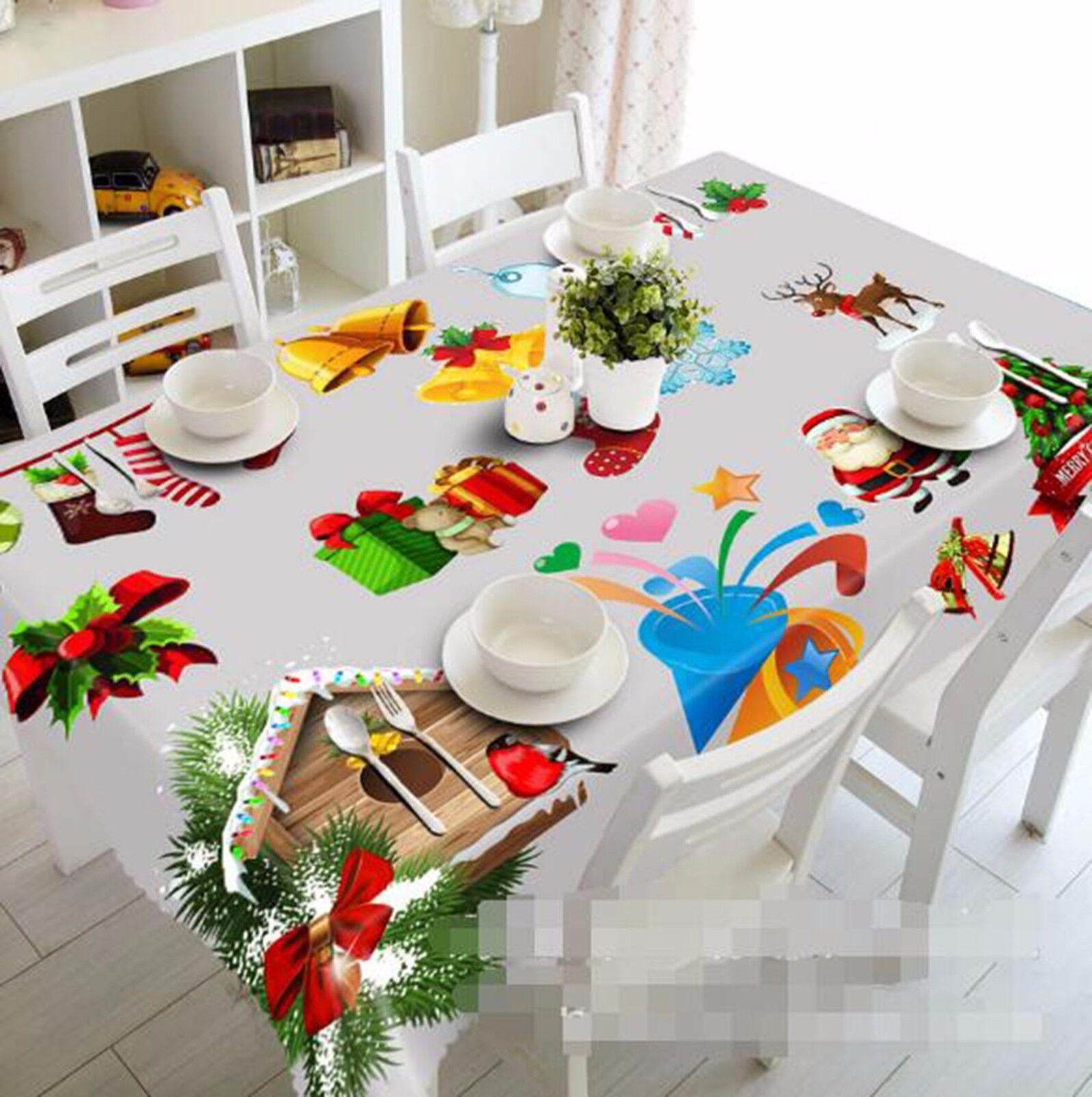 Patron 3D 57 Nappe Table Cover Cloth fête d'anniversaire AJ papier peint Royaume-Uni Citron