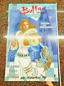Buffy-the-Vampire-Slayer-The-High-School-Years-Poster-SIGNED-Dark-Horse-Comics