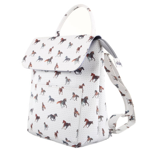 TaylorHe Backpack Rucksack Carry On Bag Zipped Top with Magnetic Fastening