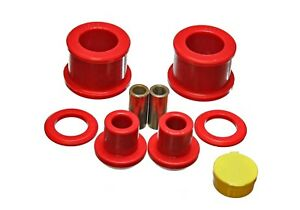 Energy-Suspension-7-1118R-Differential-Carrier-Bushing-Set-Fits-95-98-240SX