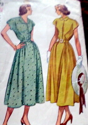 LOVELY VTG 1940s PAJAMAS Sewing Pattern 12//30