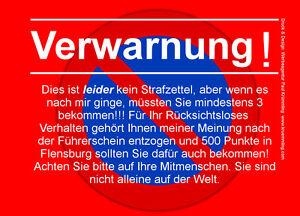Warning Note Block A7 For Windscreen 50 Leaf Red Falschparker Ebay
