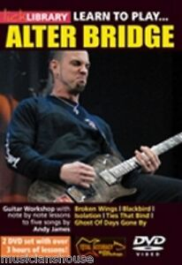 lick library learn to play alter bridge mark tremonti tutor blackbird guitar dvd ebay. Black Bedroom Furniture Sets. Home Design Ideas
