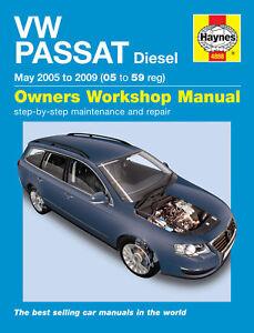 haynes manual 4888 volkswagen vw passat 1 9 se 2 0 tdi pd bluemotion rh ebay co uk 2014 Volkswagen Passat 2012 Volkswagen Passat TDI