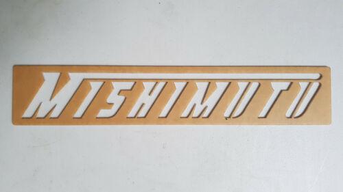 Mishimoto Intercooler Reusable Stencil