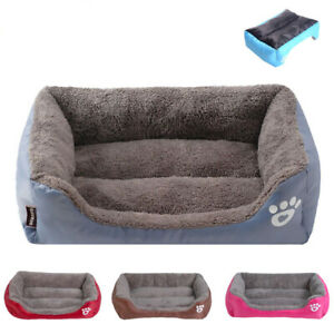 Calming-Small-Large-Dog-Bed-Waterproof-Bottom-Dogs-Sofa-Beds-Cat-Cushion-Basket