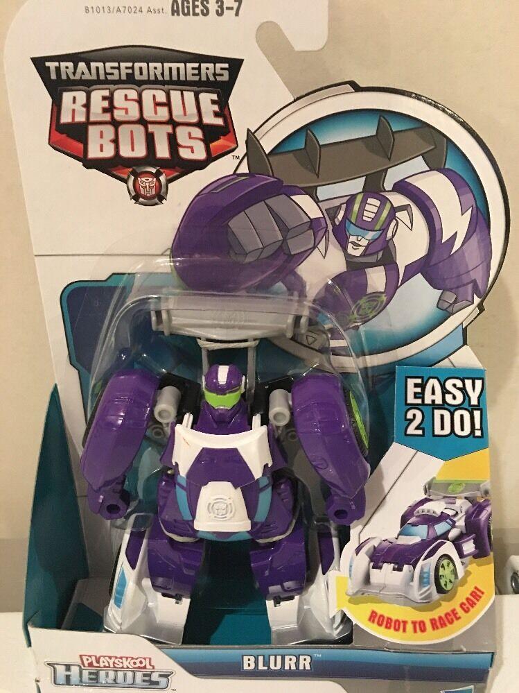 Playskool Heroes Transformers Rescue Bots bluerr Figure - NIP