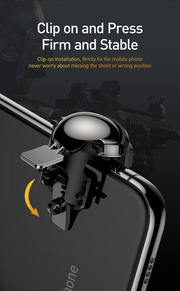 BASEUS MOBILTELEFON GAMEPAD-SPIL AIM BUTTON TRI...