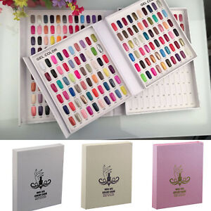 120-Nail-Tip-Colour-Chart-Display-Book-For-UV-LED-Gel-Polish-With-Without-Tips