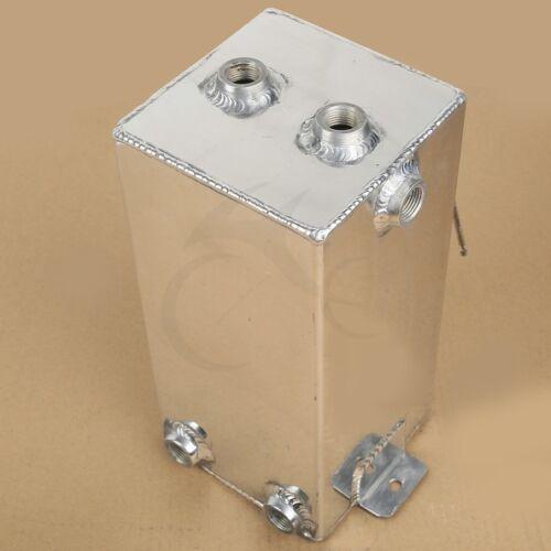 Universal Complete Fuel Surge Tank Cell 4 Litre Swirl Pot System Alloy Aluminium