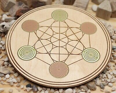 Lakhovsky MWO and vortex metatron crystal grid plate | eBay