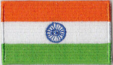 India Country Flag Embroidered Patch T4