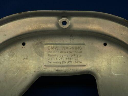 04-10 BMW E60 E61 E63 525I 535I 550I 645I 650I FRONT LOWER REINFORCEMENT PLATE