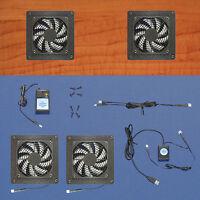 Mega-fan 2-zone Usb-controlled Av & Computer Cabinet Cooling Fans / Multi-speed