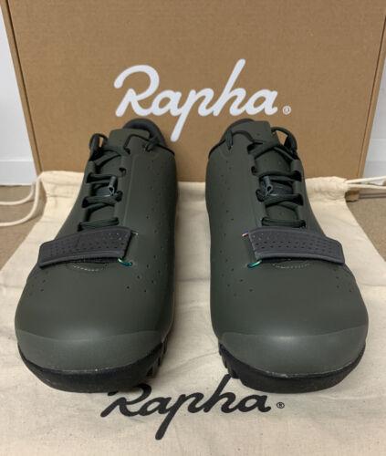 Rapha Explorer chaussures pour le cyclisme Vert Foncé Taille 8.75 Uk 43 Eu Brand New Boxed