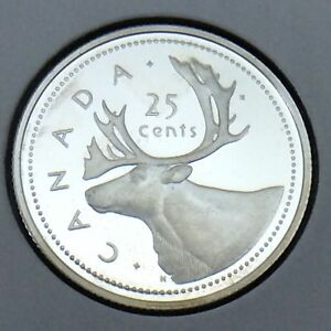 2002-Canada-Proof-25-Cents-Quarter-Canadian-Uncirculated-Coin-E894