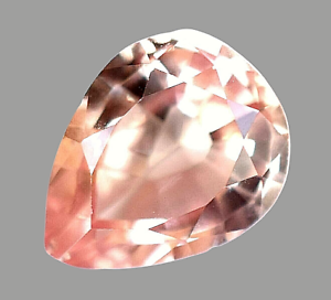 AAA+ Ceylon 2.15 Ct Natural Padparadscha Sapphire Pear Cut Gemstone -CERTIFIED