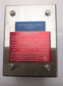 Details about ADALET Explosion Proof Junction and Pull Box for Haz  Locations TSC4X6-070504I