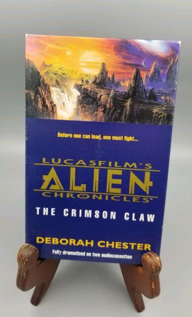 Lucas Film's Alien The Crimson Claw Audiobook on Cassette - Deborah Chester