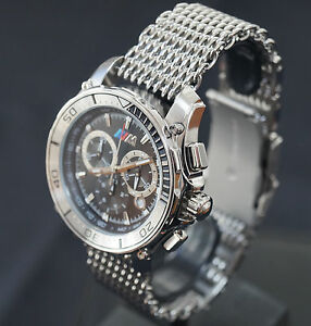rare bmw m chronograph men s women s watch with a. Black Bedroom Furniture Sets. Home Design Ideas