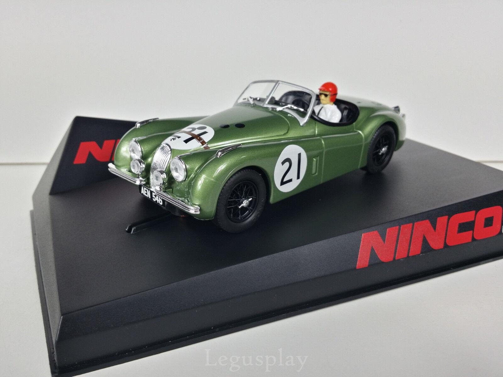 Slot SCX Scalextric Ninco 50695 Jaguar XK120 Le Mans 1951