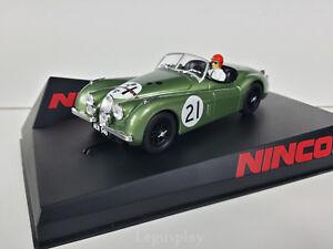 Kinderrennbahnen Elektrisches Spielzeug Slot Scx Scalextric Ninco 50695 Jaguar Xk120 Le Mans 1951